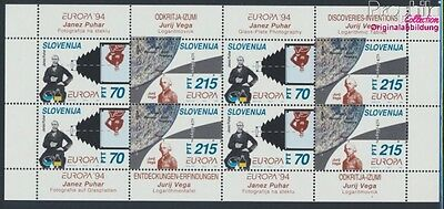 slovenia 80-81 Sheetlet MNH 1994 Discoveries, Inventions (8162423