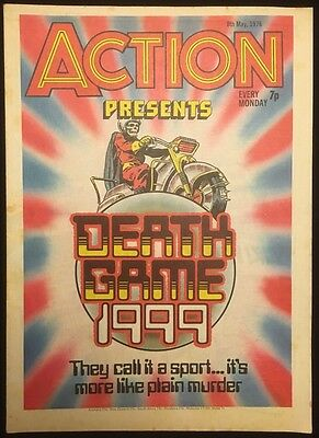 Action Comic - 8th May 1976 - All Complete - IPC - First Death Game 1999