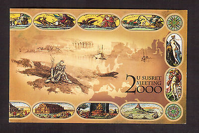 YUGOSLAVIA 1999 #2460a/g COMPLETE BOOKLET MINT VF NH, MILLENIUM !!