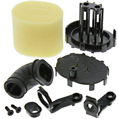 Kyosho 1/8 Inferno MP9 TKI4 Spec A * AIR FILTER, MOUNT & HOUSING * Cleaner Foam
