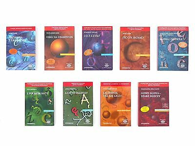 Teach learn Polish book set - Enseña aprende polaco libros de texto