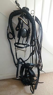 english leather driving breast harness 12-13hh ish