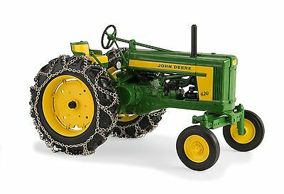 John Deere 620 Tractor With Chains, Prestige Collection 1/16 Scale  New ERTL