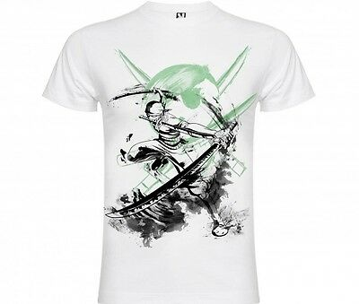 Camiseta t-shirt Zoro One Piece XS-S-M-L-XL