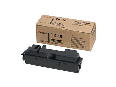 Kyocera Toner TK18 Black Genuine Toner New