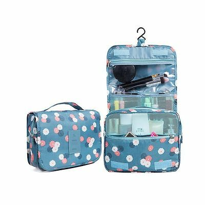 Toiletry Bag Multifunction Cosmetic Bag Portable Makeup Pouch Waterproof Travel
