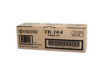 Kyocera Toner TK144 Black Genuine Toner New