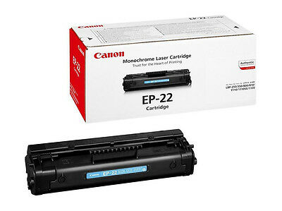 Canon EP22 Black Genuine Toner New