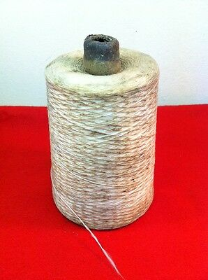 Vtg Thread Yarn String Possibly Silk Kite String Bolt 1.2 Lbs Sewing