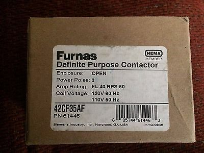Furnas 42CF35AF Definite Purpose Controller Contactor NEW IN BOX