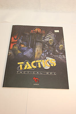 At-43 Tactics Tactical Rpg Book New