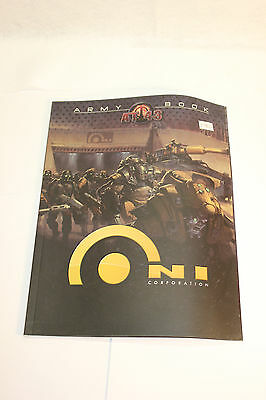 At-43 O.n.i. Faction Army Book New