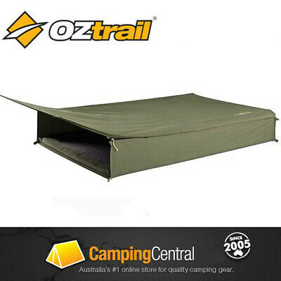 OZTRAIL COOPER DOUBLE EXPEDITION Roll Up Canvas Swag
