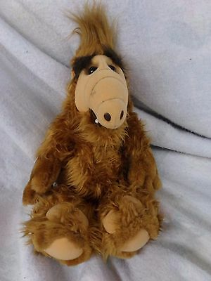 "1986 16"" ALF Plush - Alien Life Form Stuffed Animal TV Show Vintage Coleco Doll"