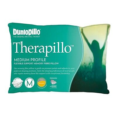 Dunlopillo Therapillo Flexible Support Medium Pillow