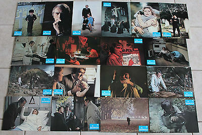 The Omen 1976 French lobby card set 18 horror Gregory Peck Lee Remick