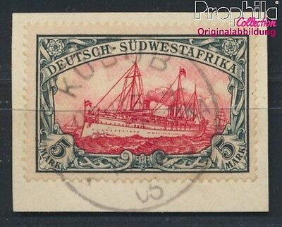 German-Southwest 32A A proofed used 1907 Imperial Yacht Hohenzollern (8983962