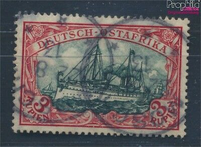 German-Eastern Africa 39I A B proofed used 1905 Hohenzollern (8100676