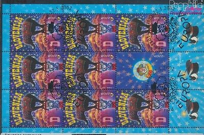 slovenia 403 Sheetlet fine used / cancelled 2002 Circus (8112272