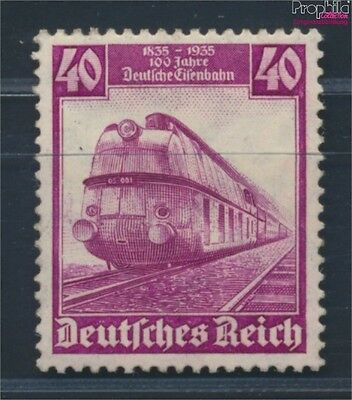 German Empire 583 MNH 1935 100 years German Railways (8688148