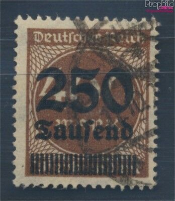 German Empire 294II proofed used 1923 Hyperinflation (8112110