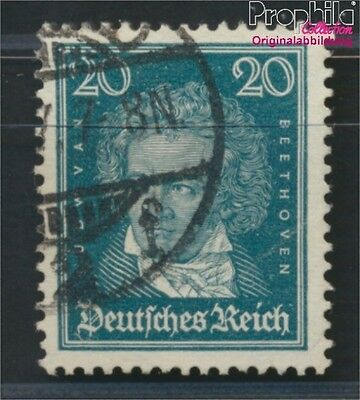 German Empire 392Y proofed used 1926 Heads famous German (8984256
