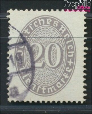 German Empire D126Y proofed used 1930 Paragraph in Oval/color (8984235