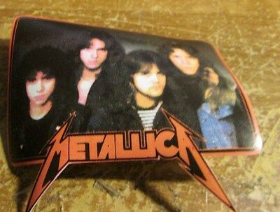 Metallica Patch English Embossed  Metal 2006  Collectable Rare