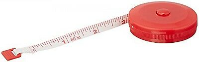Tailor Red Shell 1.5M Sewing Retractable Ruler Tape Measure Tool
