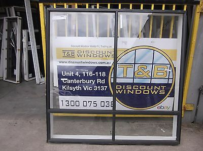 Aluminium Sliding Window 1800 H x 1810 W (Item 3002/) Monument