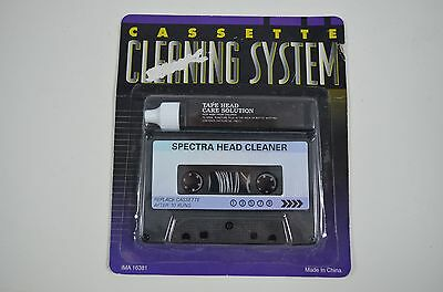 Spectra Cassette Head Cleaning System Audio NIP ey