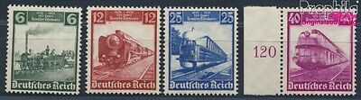 German Empire 580-583 MNH 1935 German Railways (8669681