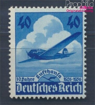 German Empire 603 unmounted mint / never hinged 1936 Lufthansa-Aircraft (8291712