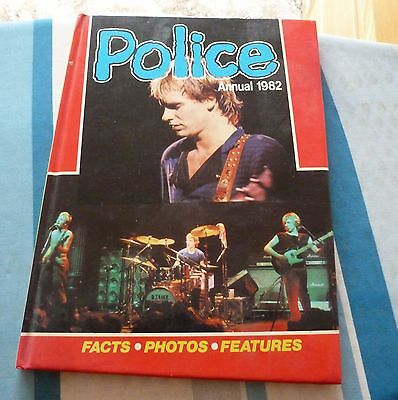 THE POLICE annual 1982 & Released soft cover Book 2 books