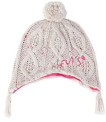LEVI'S - Peryn - Bonnet - [NG90524] [Ecru] [3 mois Taille fabricant:39 cm] NEUF