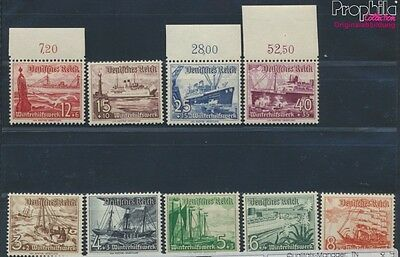 German Empire 651-659 unmounted mint / never hinged 1937 Vessels (8641241