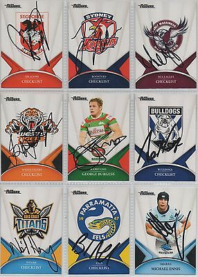 Signed 2016 Traders Cards **Most Players available**