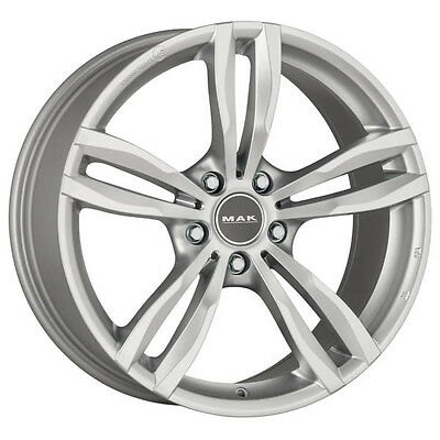 ALLOY WHEEL MAK LUFT BMW Serie 3 Coupe Staggered 8x19 5x120 SILVER F0A