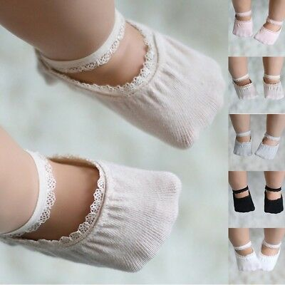 Baby Boy Girl Lace Cotton Socks Toddler Newborn Kids Soft Sock Ankle Socks 0-5T