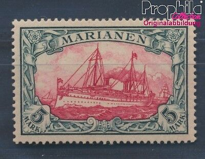 Marianas, German Colony 19 hinged 1901 Ship Imperial Yacht Hohenzollern (8305249
