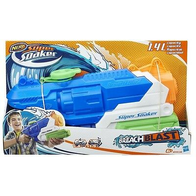 Nerf - Super Soaker Pistola d'acqua Breach Blast  B4438/619