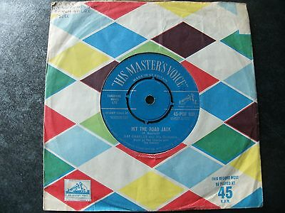 """RAY CHARLES:""""HIT THE ROAD JACK"""".1961 H.M.V.+COVER+MORE 1960s 45s FROM ME ON EBAY"""