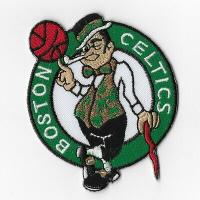 NBA Boston Celtics Iron on Patches Embroidered Badge Patch Applique Sew Emblem