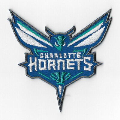 NBA Charlotte Hornets Iron on Patches Embroidered Badge Patch Applique Emblem