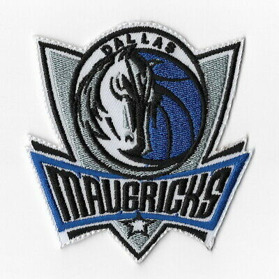 NBA Dallas Mavericks Iron on Patches Embroidered Badge Patch Applique Emblem Sew
