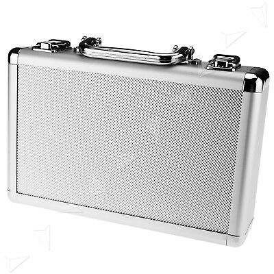 New Aluminum Tool Holder Box Case Flight Briefcase Card Board Backing
