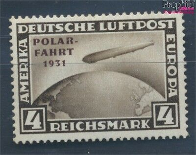 German Empire 458 with hinge 1931 arctic voyage (7803448