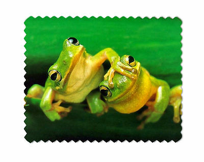 Green Tree Frogs Microfiber Lens Glasses Cleaning Cloth
