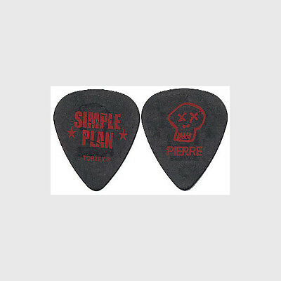 Simple Plan Pierre Bouvier 2005 Still Not Getting Any concert tour Guitar Pick