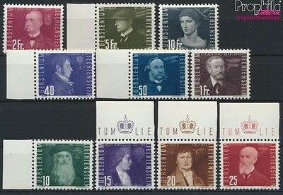 Liechtenstein 257-266 unmounted mint / never hinged 1948 Aviators (9029984
